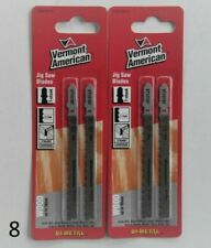Vermont American 2 packs ( 4 blades )  jigsaw Blades For wood up to 30 mm