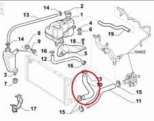 FIAT PUNTO 188 1.9 JTD MANICOTTO RADIATORE PER 46524644