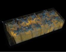 10 x Battery LED Christmas Present Gift Box Fairy Lights Ornament Decoration