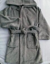 CHILDS BATHROBE WITH HOOD-boy or girl _Dressing Gown_6 /7 yrs_Fleece-Clothing
