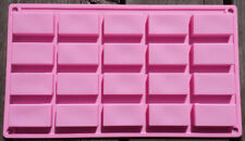 Rectangle Hotel Size Silicon Rubber Soap Chocolate Jelly Mold Molder