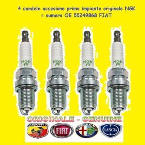 4 CANDELE NGK IKR9J8 per A.R. GIULIETTA MITO - FIAT 500X 1.4 T.B. AIR =552449868