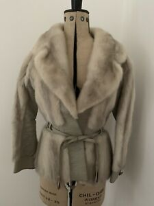 Vintage EMBA The America Mink Fur And Leather Jacket 8/10