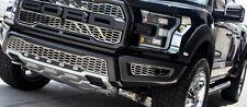 2017 Ford Raptor - Front Lower Bumper Leaf Grilles