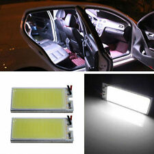 2pcs Car Interior 12V White Light 36COB LED Xenon HID Dome Light Bulb Panel Lamp