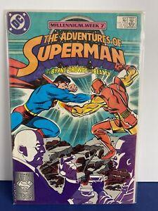 COMIC THE ADVENTURES of SUPERMAN No 437 FEB 1988 COMIC DC *