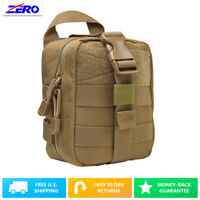 Tan Small Molle EMT Pouch MOLLE PALS First Aid Medic Bag Rip Away Utility Gear