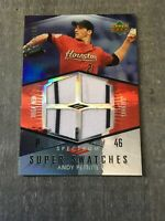 2007 Upper Deck Spectrum Super Swatches Andy Pettitte 04/50 Pinstripe Rare