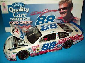 Dale Jarrett 1999 Quality Care White Breast Cancer #88 Ford 1/24  NASCAR CWB New
