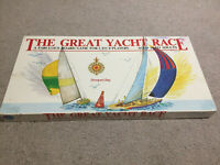 The Great Yacht Race Vintage Board Game Complete 1986 Racing Sailing Jedko