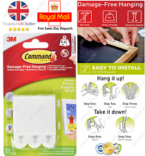 3M Command Strips Picture Frame Hanging Adhesive Stick on MEDIUM SMALL LARGE
