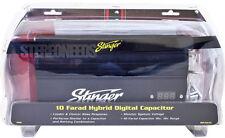 NEW STINGER PRO SPC5010 10 FARAD HYBRID CAPACITOR DIGITAL VOLTAGE BLACK DISPLAY