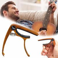 Kapodaster für Akustikgitarren gewölbt silber E-Gitarren