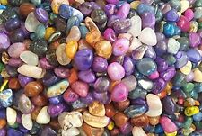 2 Pounds of Tumbled Brazilian Stones / Rocks - Assorted Mix