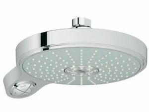 GROHE Power & Soul Cosmo 190 Overhead Shower 4 Function Chrome Stock