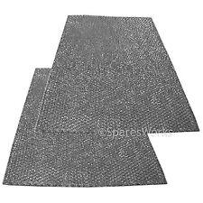 2 x universal aluminium grande hotte vent filtres lavables coupées à dimension
