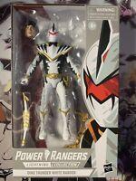 Power Rangers Dino Thunder White Ranger Lightning Collection NEW Action Figure