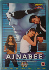 AJNABEE - 2 DISC SET - BOLLYWOOD DVD - indian movie - Akshey Kumar, Bobby Deol