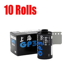New 10 Rolls Shanghai GP3 100 135 35mm 36EXP ISO 100  B&W  Fresh 2022