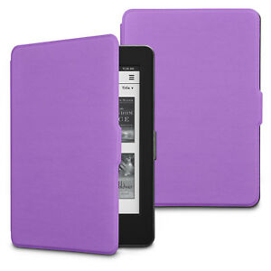 For Amazon Kindle Paperwhite 1 2 3 Leather Flip Magnetic Smart Wake Case Cover