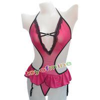Hot Women Ladies Sexy Lingerie Nightwear Babydoll G-String Underwear Sleepwear