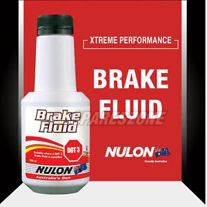 Nulon Brake Fluid Dot 3 500ML for Toyota Hilux FJ Cruiser Fortuner Lexcen Corona