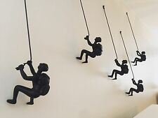 Climbing Man Wall Art Set Of 10 Pieces Best Price Online PRICED TO SELL!!!!