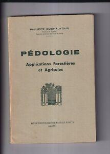 Pedologie étude du sol applications forestières et agricoles Philippe Duchaufour