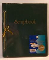 """Vintage Scrapbook 14""""x12"""" String Binding 50 Sheets New Never Opened"""