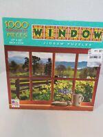 """Luv-it 1,000 Piece WINDOW Jigsaw Puzzle 27""""x20"""""""