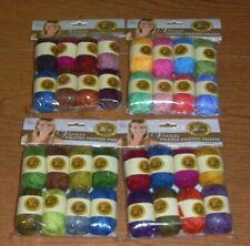 Lion Brand Vanna's Palettes Bonbons Yarn,8 per package,10g mini Balls,U Pick Set