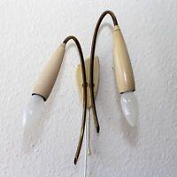 Wall Lamp__50's 60's Messing Wandlampe Rockabilly Stilnovo Sarfatti Ära