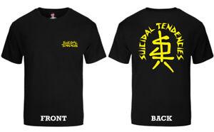 SUICIDAL TENDENCIES official SxTx LOGO T-SHIRT Dogtown Punk