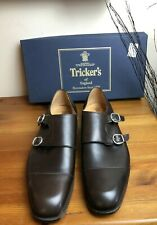 Mens - Trickers - Highgate - Double strap / Monk Shoes - Brown UK 9.5