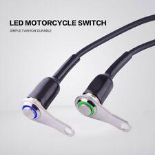 12V LED Motorcycle Handlebar Switch Reset Manual Return Button Engine ON-OFF