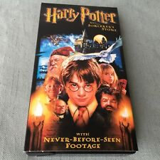 VINTAGE VHS TAPE MOVIE HARRY POTTER AND THE SORCERERS STONE 2002 UNSEEN FOOTAGE