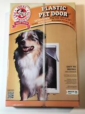 Ideal Pet Products Plastic Pet Door Extra Large Flap Size 10.5 x 15 New / Sealed