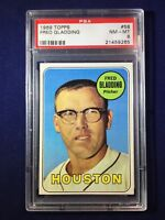 1969 Topps Fred Gladding #58 PSA 8 Houston Astros
