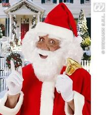 White Beard With Moustache Santa Clause Father Christmas Fancy Dress