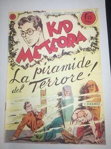 Kid Meteora N.17 Le Pyramide Du Terreur Tomasina 1949 Auguste Pall