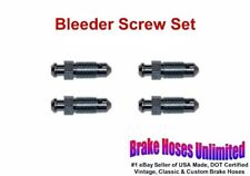 BLEEDER SCREW SET Hudson 1949 1950 1951 1952 1953 1954 1955