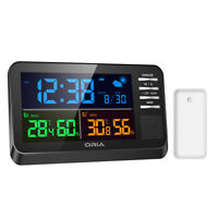 ORIA Weather Digital LCD Indoor Thermometer Hygrometer Room Temperature Humidity