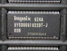 (x6) HYNIX, HY5DU561622DT-J, 256Mb, DDRAM, 16Mx16, 2.5V, 66TSOP (415)