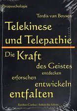 TELEKINESE UND TELEPATHIE - Die Kraft des Geistes mit Tordis van Boysen BUCH
