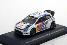 VW POLO R WRC #2 LATVALA ANTILLA WINNER SWEDEN RALLY 2014 WHITEBOX WBR024 1/43