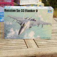Trumpeter 01667 1:72 Bausatz Kampfflugzeug Flanker D Suchoi Su -33 in OVP