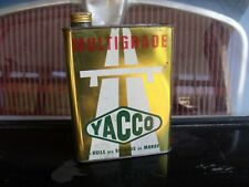 ancien  bidon HUILE YACCO DORER indus. ,GARAGE AUTO MOTO,