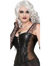 Witch Wizard Womens Adult Black Vampire Costume Corset-Std