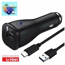 Samsung Adaptive Fast Car Charger 9V USB Type C Galaxy S9 S8 + Note 8 LG HUAWEI