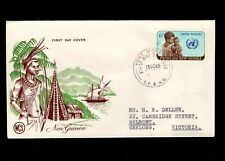 Papua & New Guinea Port Moresby 1st Day 1965 United Nations 6d 5l